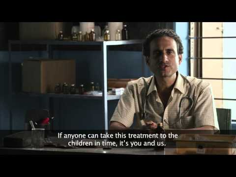 Diarrhea film/ ORS and ZINC / rural / child mortality (English SUBTITLE)