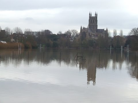 Following the shear attack of rain in the UK in the last few months not only has the river burst it banks it managed to burst the banks of the Crickets groun...