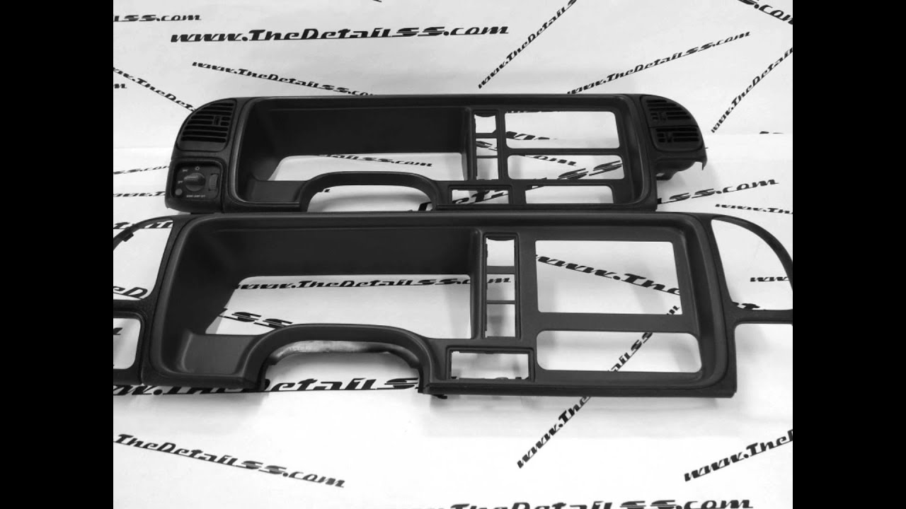 Thedetailss Din Installation Kit 2002 Chevy Autos Post
