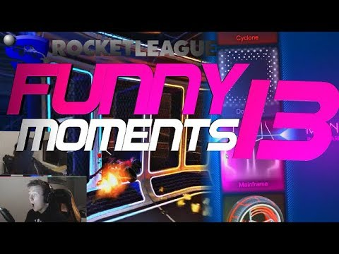 ROCKET LEAGUE FUNNY MOMENTS 13 😆 (FUNNY REACTIONS, FAILS & WINS BY COMMUNITY & PROS!)