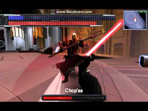 Star Wars   FU1   Galen Marek Vs Chop'aa   PSP Windows