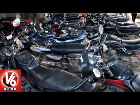 Rajanna Siricilla Police Conducts Cordon Search At Konayipally, Seizes 40 Vehicles | V6 News