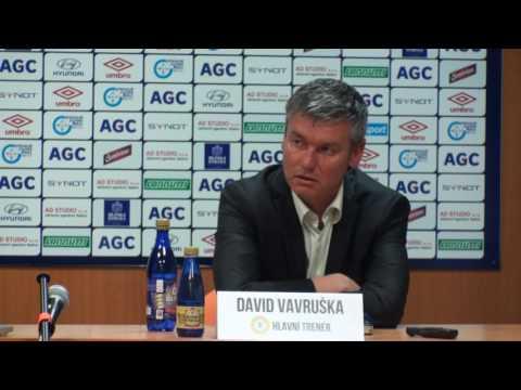 Tisková konference domácího týmu po zápase s Duklou Praha (11.5.2016)