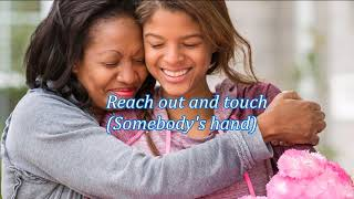 Reach Out And Touch Somebody 39 S Hand Diana Ross Hd