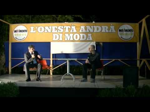 Massimo Artini  intervento alla Festa Del Cittadino di Pistoia 20 06 2014 parte 2