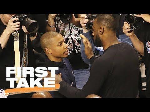 First Take reacts to LeBron James defending Isaiah Thomas on Twitter   First Take   ESPN