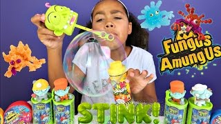 SUPER GROSS! SUPER SMELLY! Stink Prank Bubbles - Fungus Amungus - Zombie Toy Opening