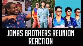 AJ reacts to: Jonas Brothers Reunion