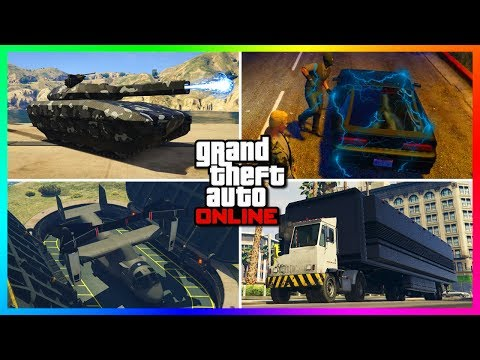 Top 10 Cars/Vehicles That Have SECRET Features You Probably Forgot About In GTA Online!