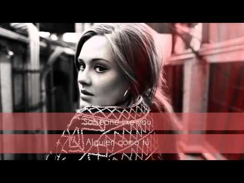 Adele - Someone Like You (Traducida al Español/ MyMusicSub)