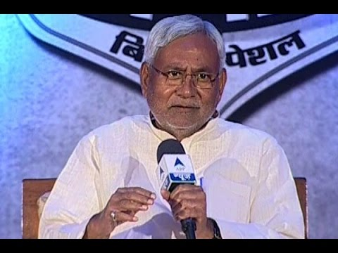 Ghoshanapatra with Nitish Kumar: BJP used the caste card for the first time ever