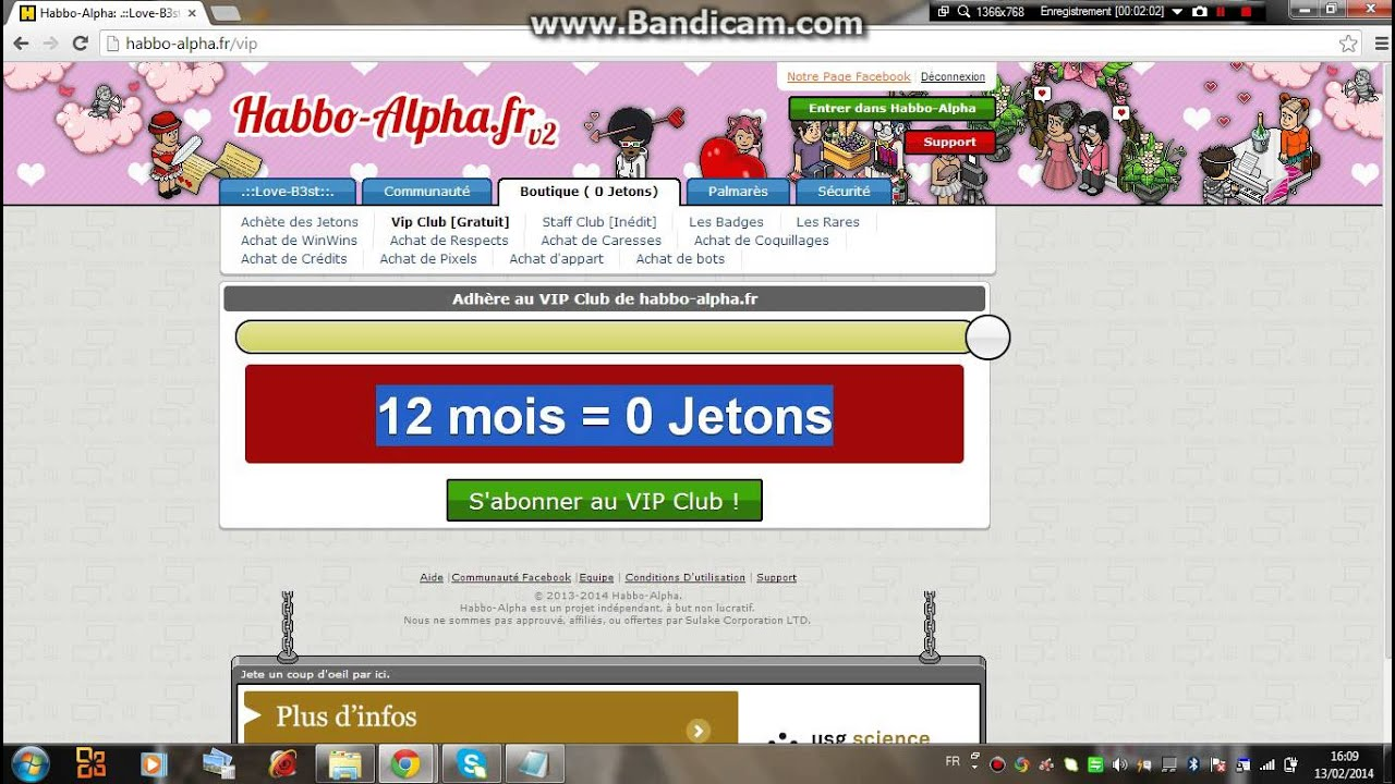 comment devenir vip d'or dans habbo