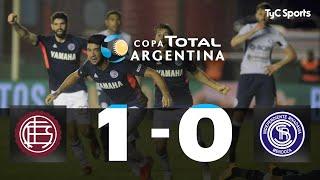 Copa Argentina: Lanús sacó un agónico pasaje a octavos ante Independiente (R)