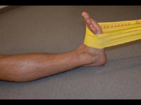 Гимнастика при переломе голеностопа в домашних условиях