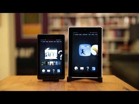 Primer vistazo a las tabletas Kindle Fire HD de 6 y 7 pulgadas