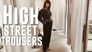High street shopping for the perfect trousers | Arket, & Other Stories & Mango
