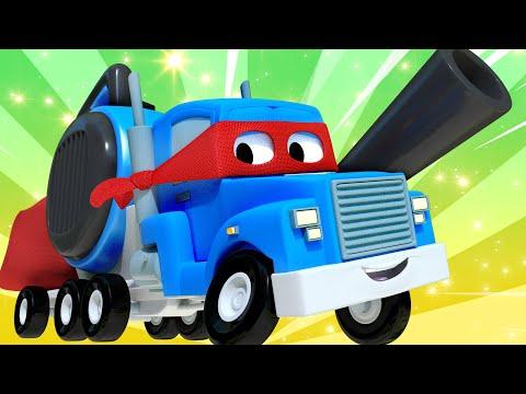Летний поезд - Трансформер Карл в Автомобильный Город 🚚 ⍟ детский мультфильм
