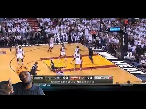 lol ! Miami Heat vs Brooklyn Nets Game 2 Nba Playoffs 2014 Heat win 2-0 reaction