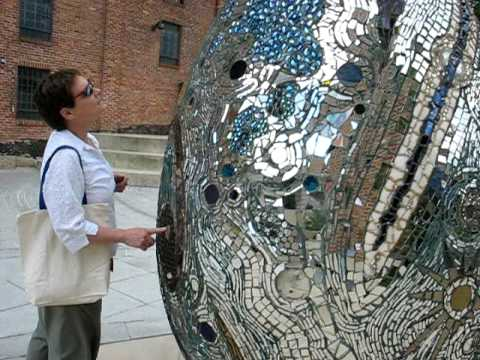 Me and Susan at the American Visionary Art Museum