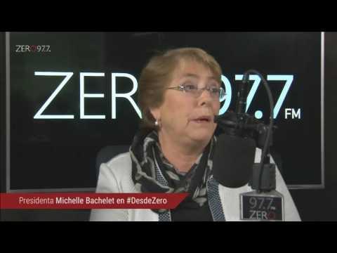 Michelle Bachelet en #DesdeZero