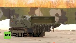 Russia: Uran-6 mine clearing system tested before Palmyra deployment