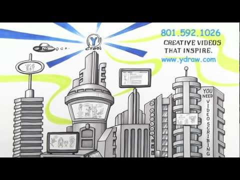 Ydraw Video Scribing:  Whiteboard Animation and Explainer Videos