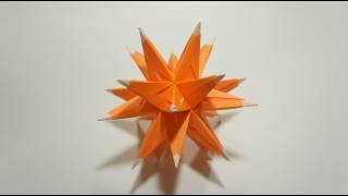 Origami Sea Urchin Star (martin Sejer Andersen)
