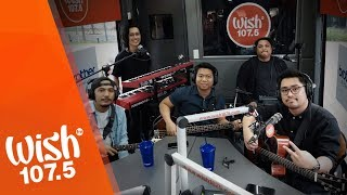 "December Avenue performs ""Bulong"" LIVE on Wish 107.5 Bus"