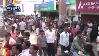 Fire Accident at Cloth Market in Vizianagaram