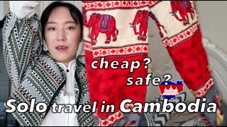 CAMBODIA Travel Tips | Budget Solo Female Traveler 🇰🇭