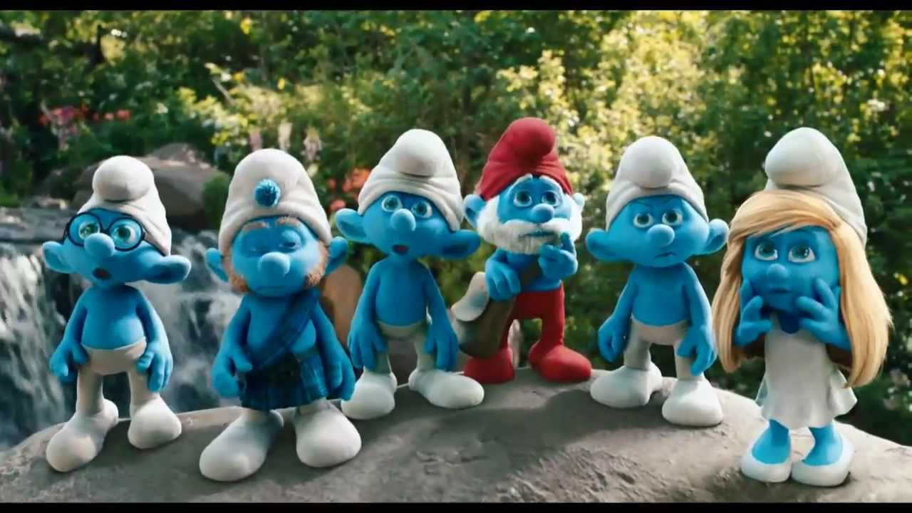 Smurfs Movie Trailer 2011 Official The Smurfs 2011 Official hd