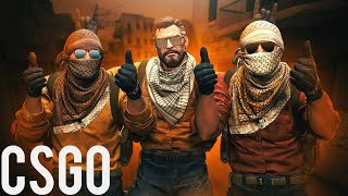 Counter-Strike Global Offensive ქართულად competitivo Dust 2