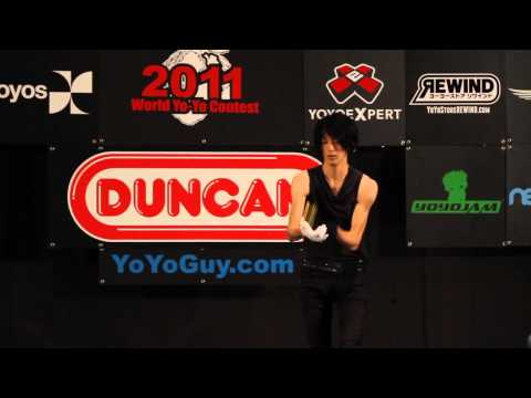 yoyofactory Presents: Ryota Ogi 17th Place 2011 World YoYo Contest 1A