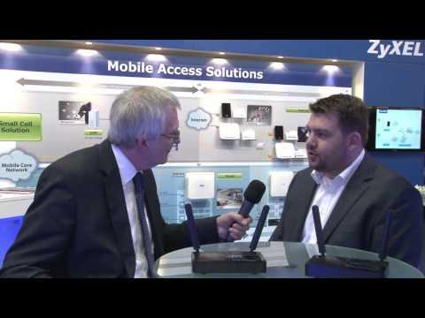ZyXEL's New LTE Portfolio - Media Interview (total telecom TV) at MWC 2015