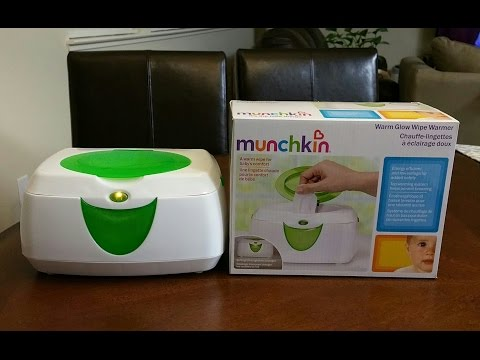 Munchkin Wipe Warmer - Review and Thoughts