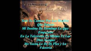 17. Temperamento - Carta Para Tempo Part. III (El Fin Del Mundo The Mixtape 2008) Con Letra