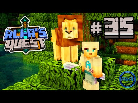 Minecraft - Ali-As Quest #35 - KING OF THE JUNGLE!