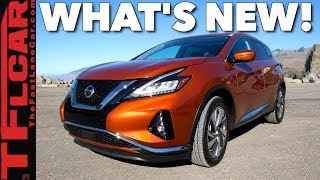 2019 Nissan Murano Update: What's New and What's Not!