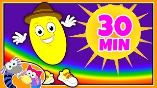 Colors Song | The Yellow Song | Learn Colours and Nursery Rhymes with Silly Sox