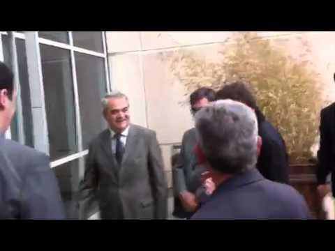 Nicolas Sarkozy est arrivé à Outremer 1ere