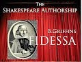 Shakespeare and Griffin's Fidessa: An artistic autobiographical sonnet sequence