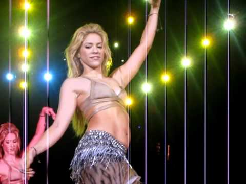 Shakira Concierto Barcelona - danza del vientre 29Mayo2011