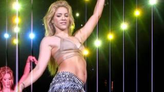 Shakira Video - Shakira Concierto Barcelona - danza del vientre 29Mayo2011