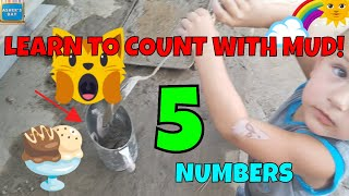 Learns Numbers at Pasadena Children's Museum Educational Video Toddler