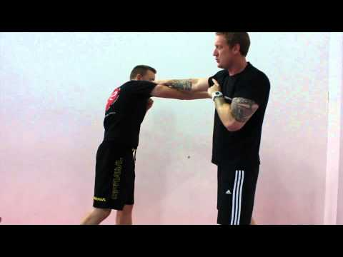 Krav Maga Techniques - Defence against a straight punch Image 1