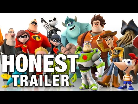 DISNEY INFINITY (Honest Game Trailers)