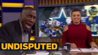 Shannon Sharpe reacts to the Giants Week 14 win over the Dallas Cowboys | UNDISPUTED