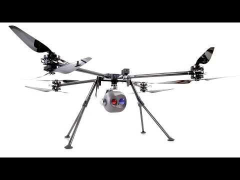 SAR - Search and Resuce Drone Tayzu Titan X8 - 20X Optical Zoom and Thermal FLIR Camera