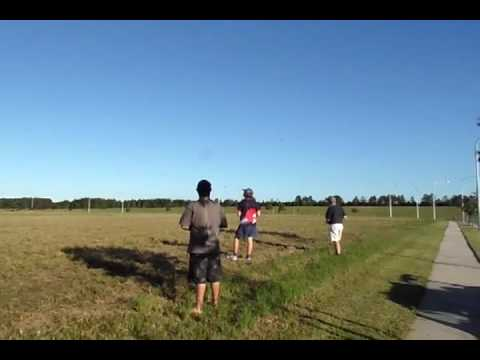 RC Plane S&B Komet hits light