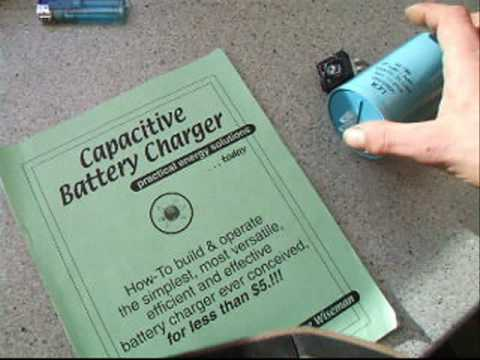 DIY Capacitive Battery Charger